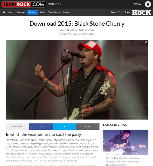 Classic Rock: June 2015