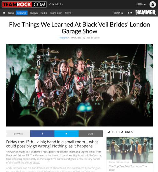 Metal Hammer: March 2015