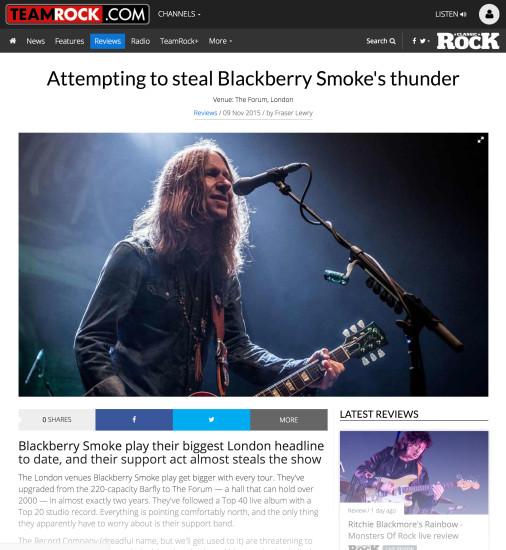 Classic Rock: November 2015