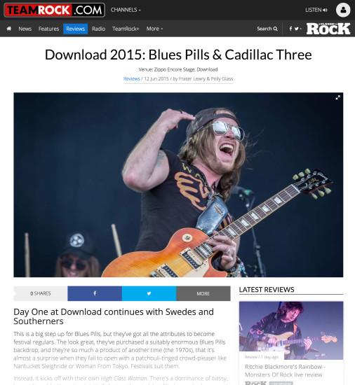 Classic Rock: June 2015