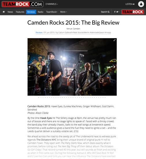 Team Rock: June 2015