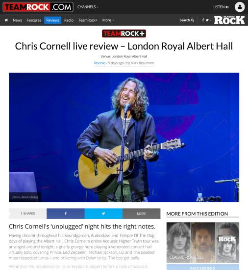 Classic Rock: June 2016