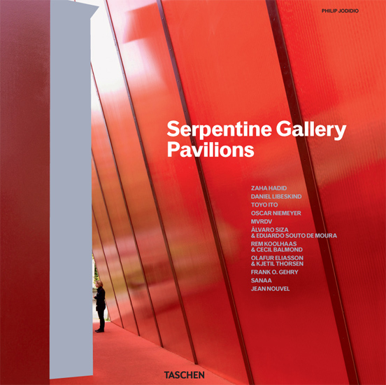 'Serpentine Gallery Pavilions' published by Taschen, 2011.
