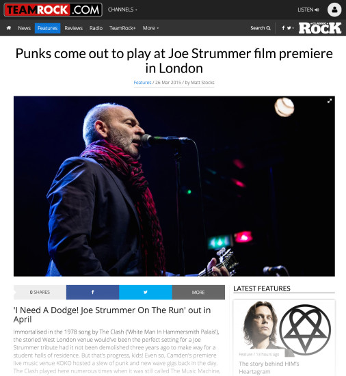 Classic Rock: March 2015