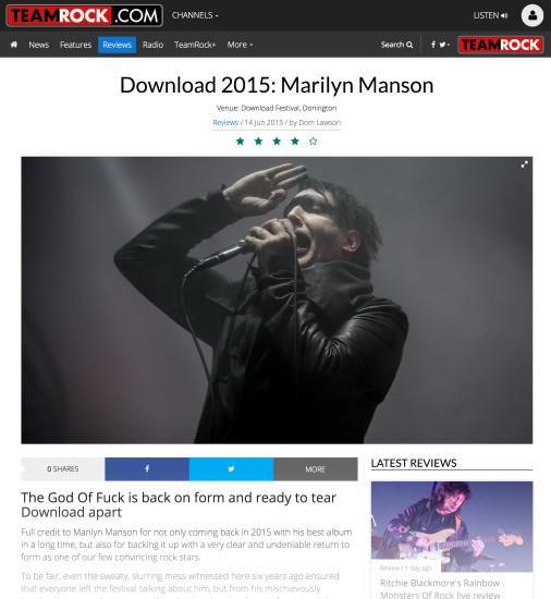 Metal Hammer: June 2015