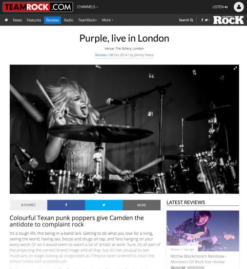 Classic Rock: October 2014