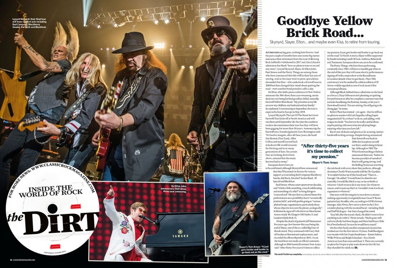 Classic Rock: May 2018 edition (Lynyrd Skynyrd photo)