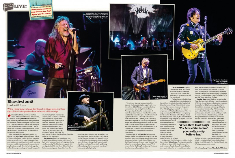 Classic Rock: January 2019 edition