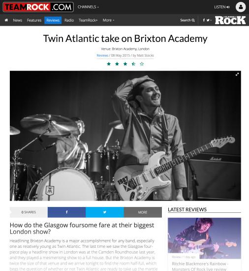 Team Rock: May 2015