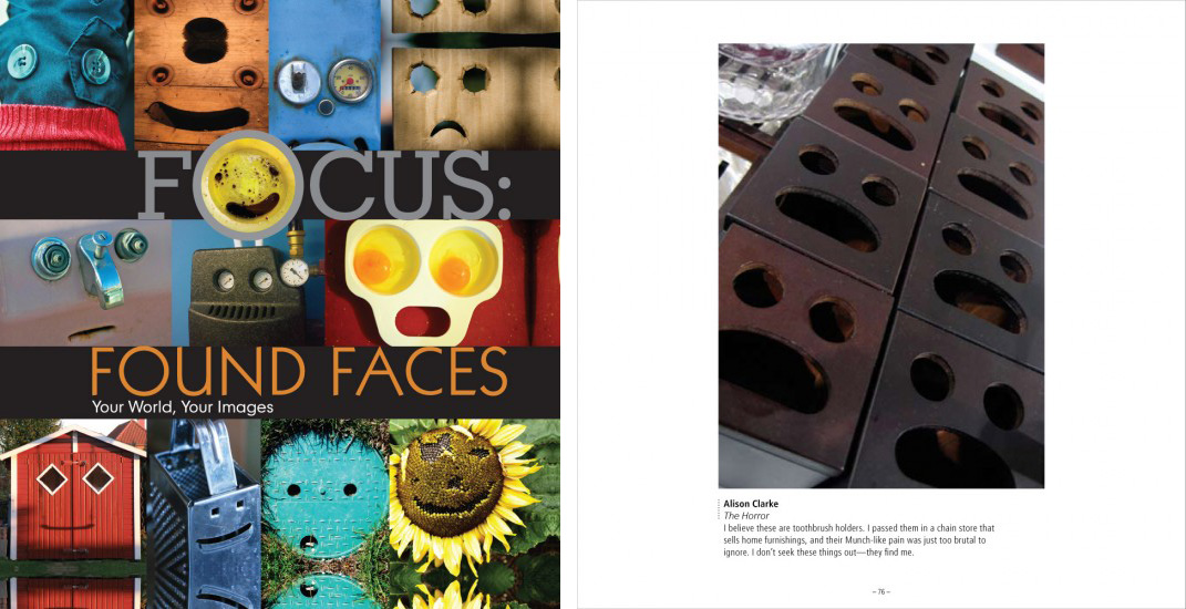 'Focus: Found Faces' published by Lark Crafts, 2011.