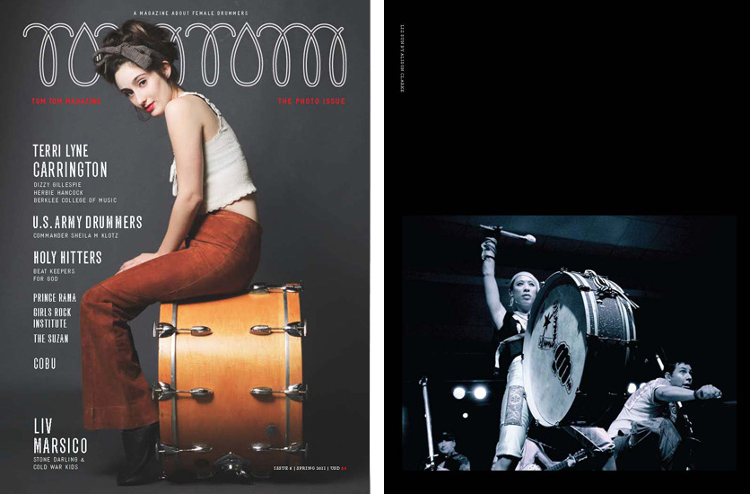 Tom Tom Magazine: Spring 2011 edition. Featured photograph: Elizabeth Sun, Gogol Bordello.